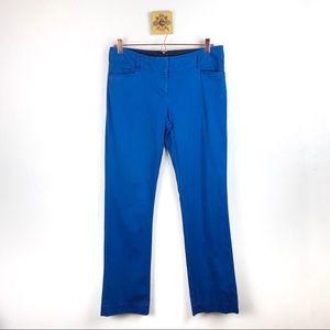 EXPRESS Womens Celestial Blue Columnist Pants
